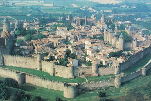 Carcassonne Languedoc Francia