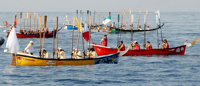 lloret de mar santa cristina procesion