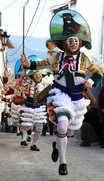 Carnaval de Laza peliqueiros