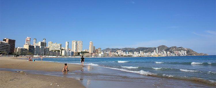mejores playas de benidorm