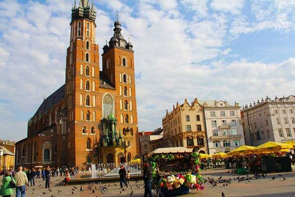 plaza mercado cracovia