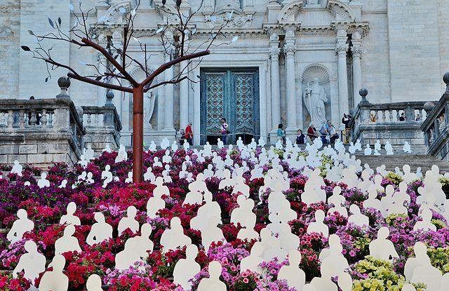 temps de flors girona catedral