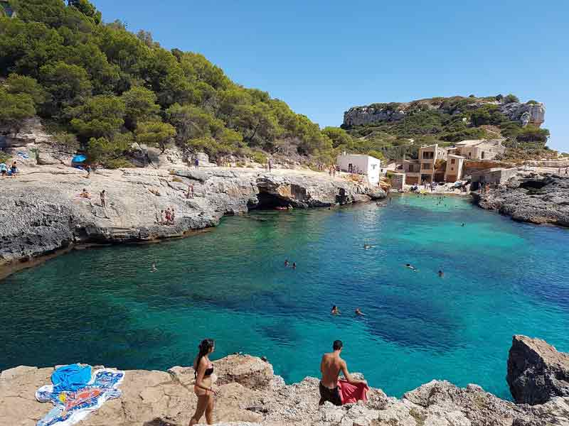 calas secretas de Mallorca