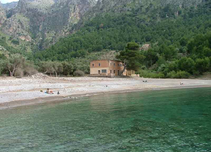 calas tranquilas de Mallorca