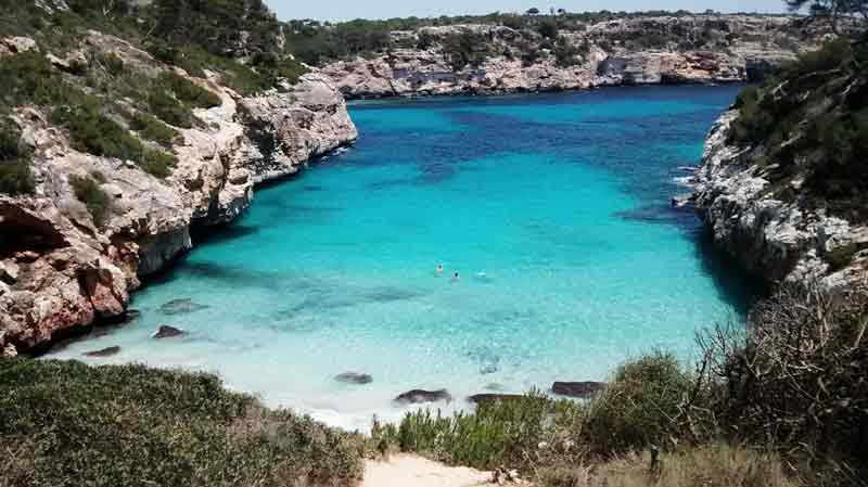 Calas famosas de Mallorca