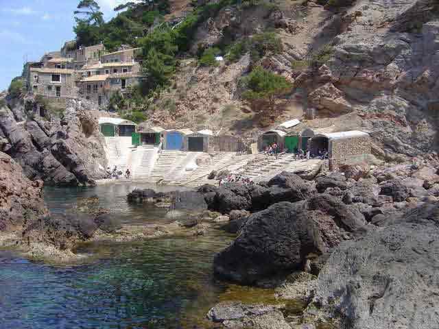 calas de difícil acceso en Mallorca