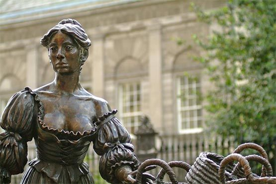 estatua molly malone dublin