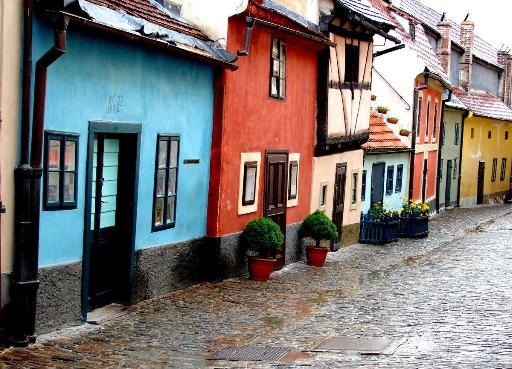 Praga callejon Oro