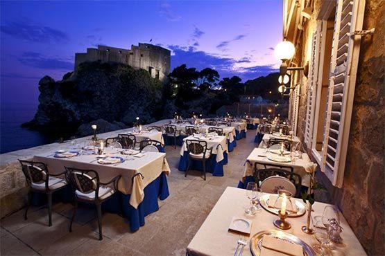 Dubrovnik restaurante nautika