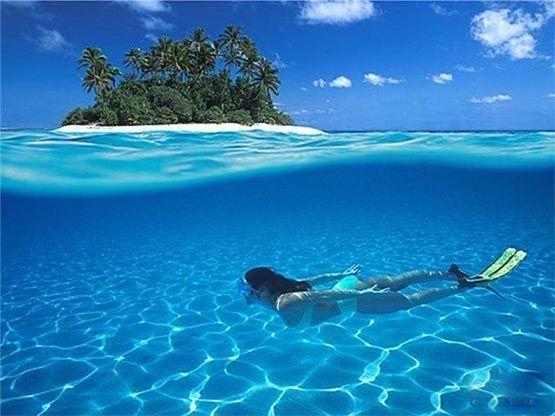 Snorkeling en Maldivas