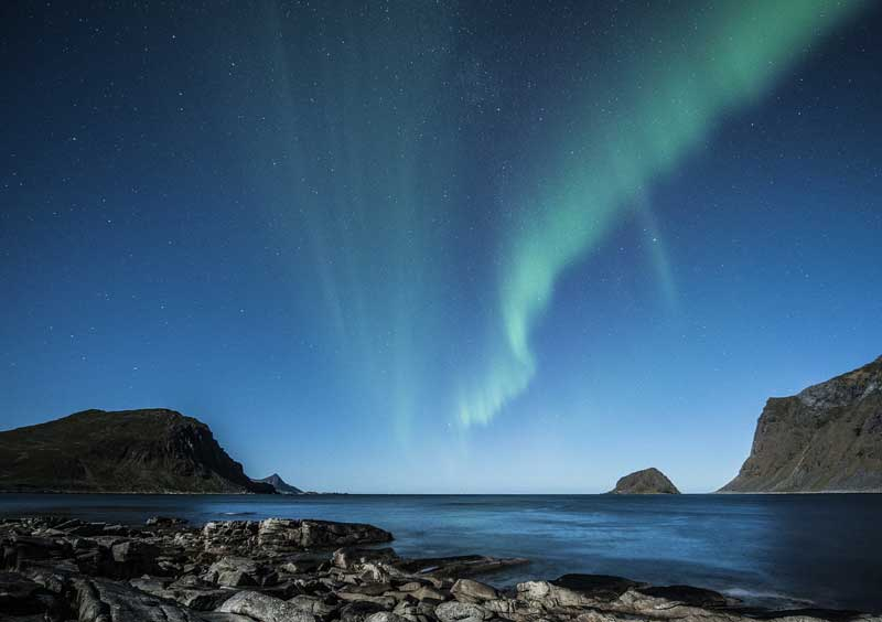 Aurora boreal lofoten
