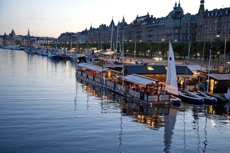 Anochecer en Estocolmo