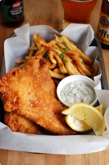 fish and chips: visitar londres