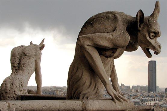 Gargolas de Notre Dame
