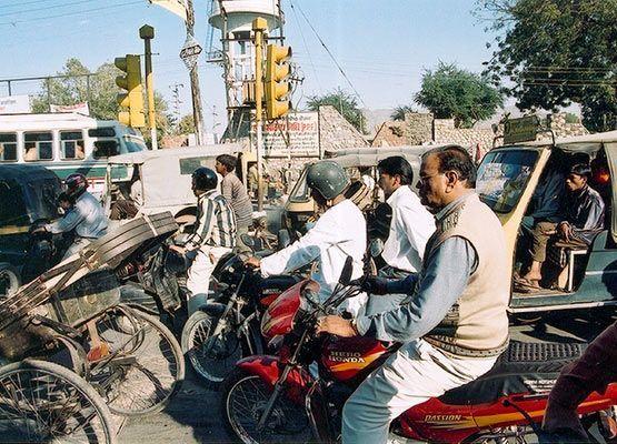 india trafico