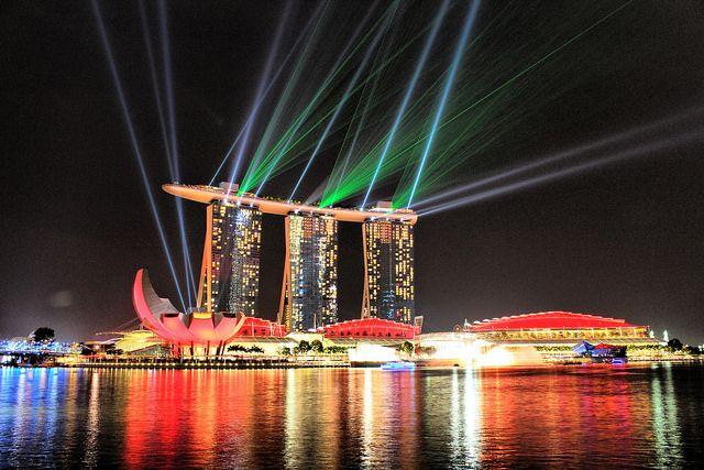 donde viajar en diciembre: singapur