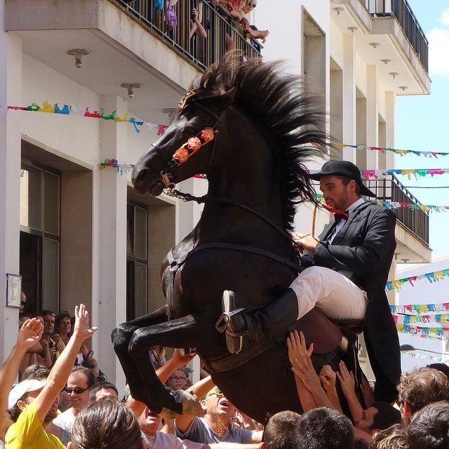 menorca caballo