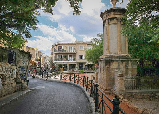 plaka-atenas-barrio