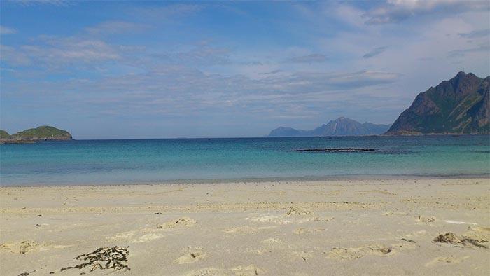 playa de noruega