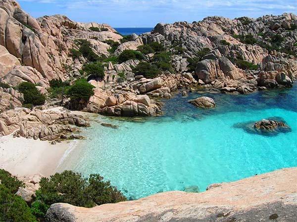 mejores playas cerdeña isla caprera