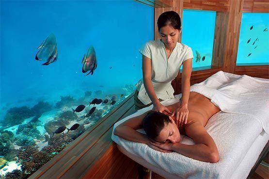 Exclusivo Spa subacuatico
