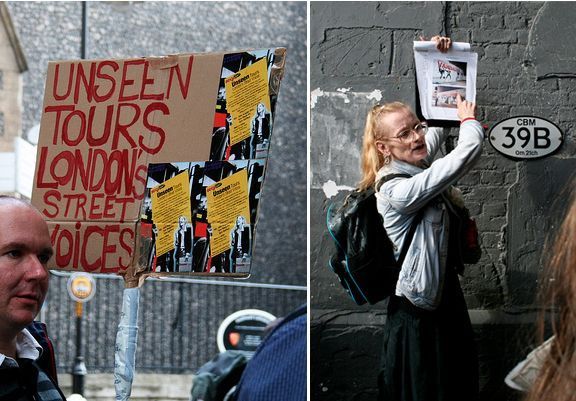 sock mobs: visitas guiadas en londres