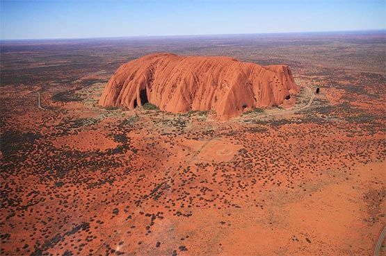 vistas panoramicas uluru