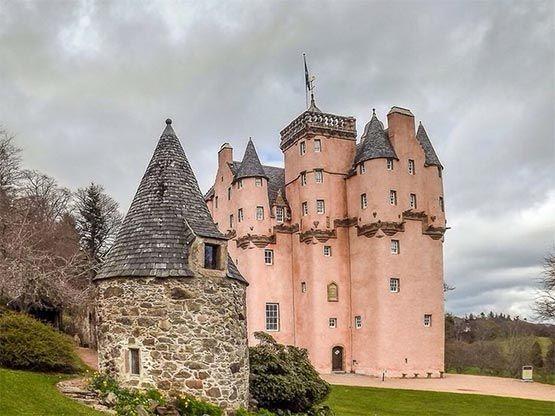 castillo de Craigievar escocia
