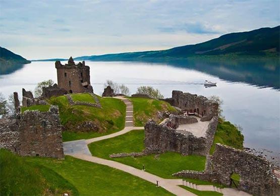 castillo de Urquhart escocia