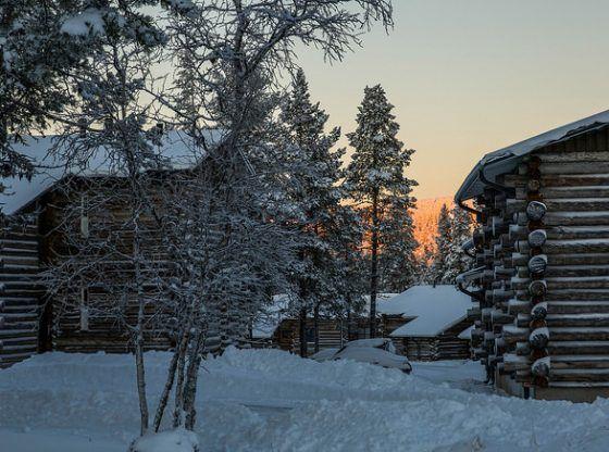 cabaña finlandesa