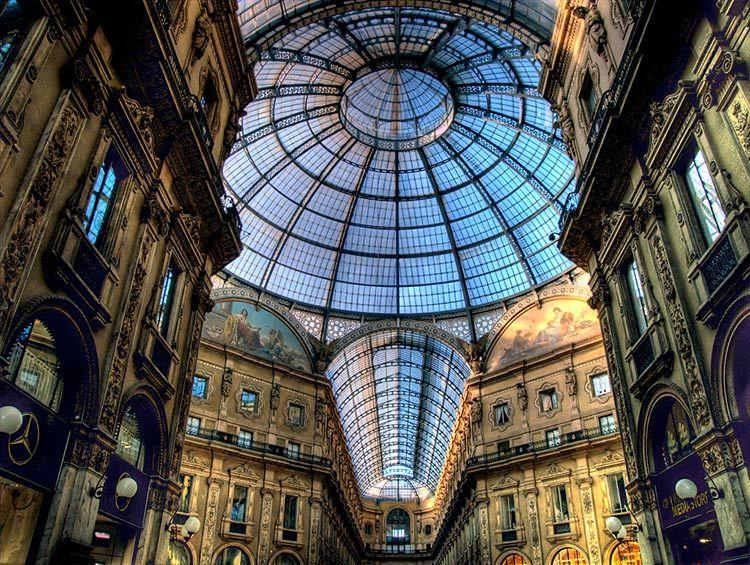 Galeria Vittorio Emanuele milan