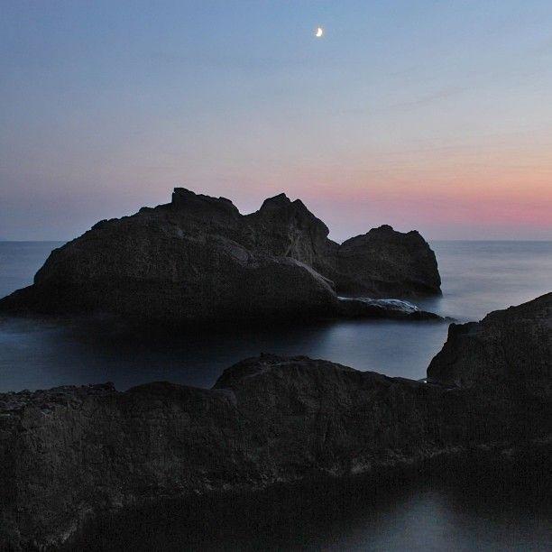 Ginostra puesta de sol