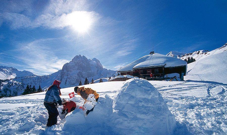 Esqui en Suiza - Gstaad