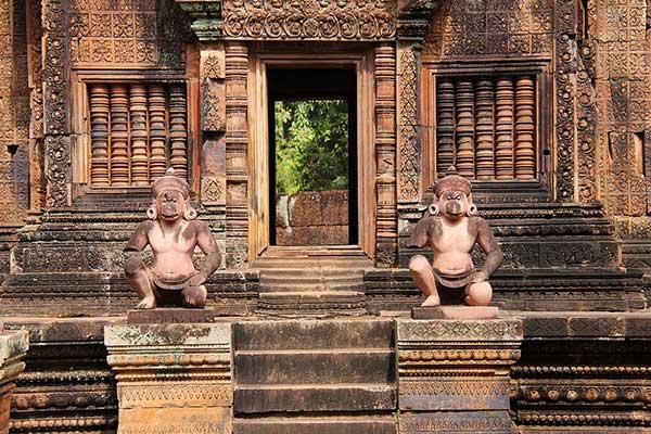 templos en angkor wat