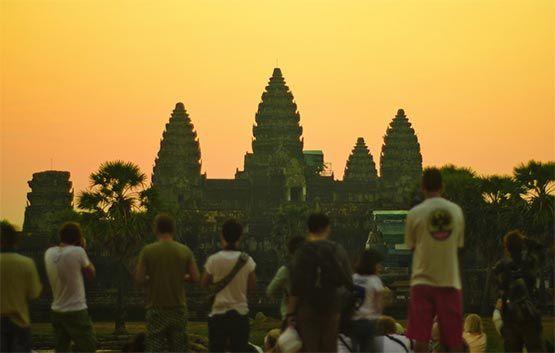 Puesta de Sol en Angkor Wat