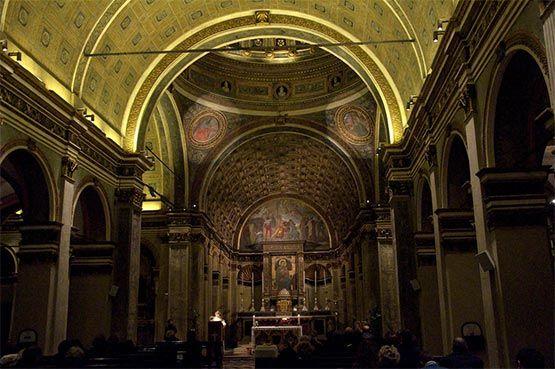 iglesia san satiro milan