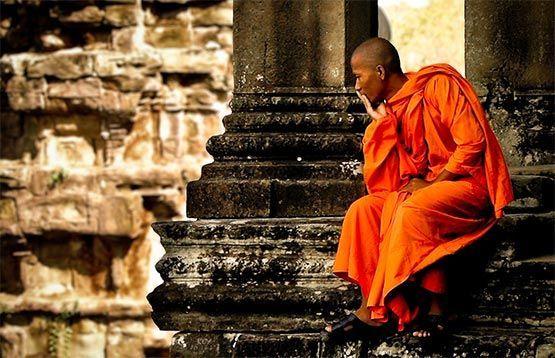 monje budista