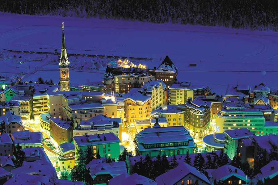 Esqui en Suiza - St. Moritz
