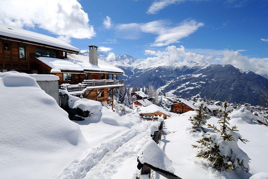 Esqui en Suiza - Verbier