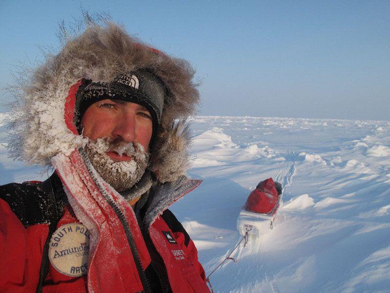 Jordi Canal-Soler en el Polo Norte