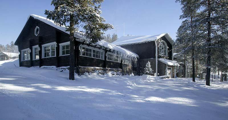Hoteles en Finlandia para ver auroras boreales - Hotel Lapland Bear
