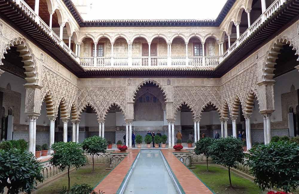 monumentos de Sevilla: el alcazar