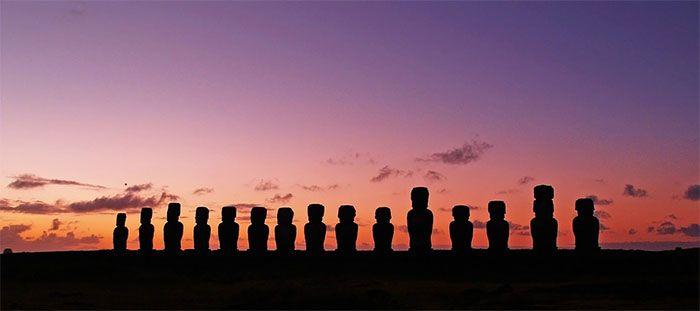 isla de pascua moai