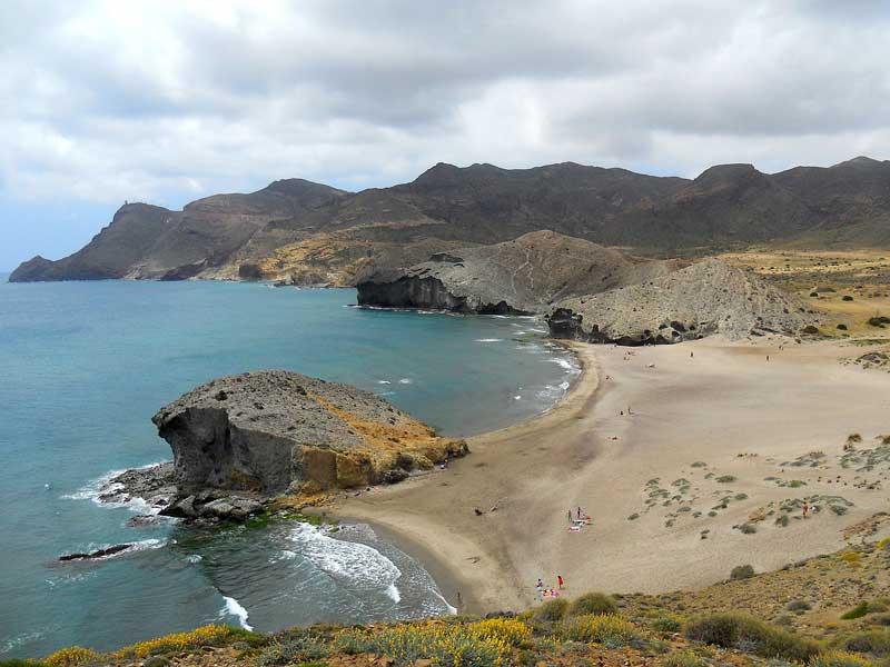 playas vírgenes Almería