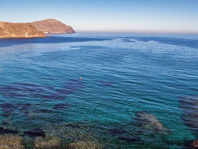 playas en la costa de almería